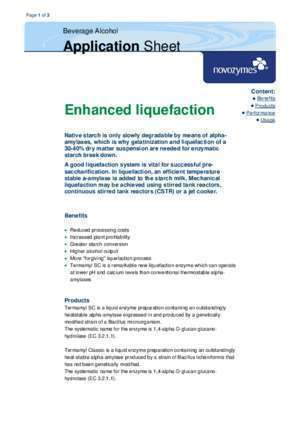 Amylase 2 : Content Enhanced liquefaction Mountain