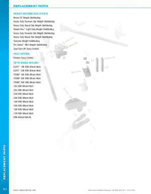 58032 : REPLACEMENT PARTS Reese