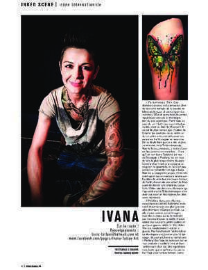 Inked Article - Ivana Tattoo Art