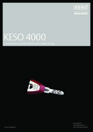 4000 4 : KESO 4000 assaabloy ch