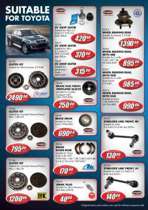 PRICES VALID FROM 1 MAy tO 30 JunE 2015 -