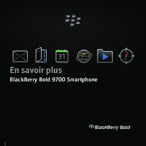Bluetooth du blackberry bold 9700 : BlackBerry Bold 9700 Smartphone 5 0 En savoir plus