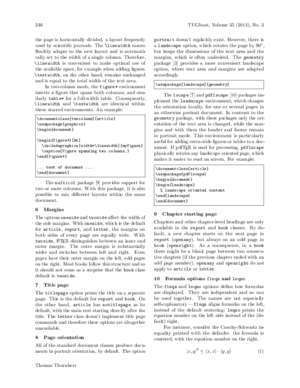 With darft : LATEX document class options TeX Users Group