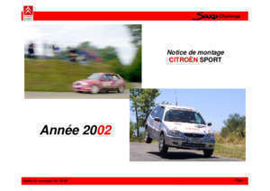 1 5d citroen saxo motor pd : Notice Saxo Challenge Boutique Citroën Racing