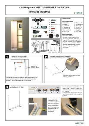 butee de porte coulissante notices et pdf gratuits. Black Bedroom Furniture Sets. Home Design Ideas