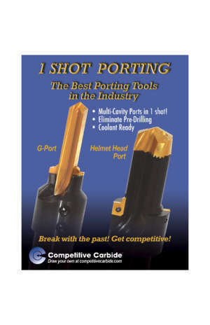 454 490 : ONE SHOT PORTING Competitive Carbide Inc