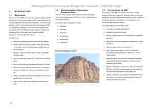 Basic sedimentary and water : PART A INTRODUCTION AND SUMMARY OF THE STATUS QUO REPORT
