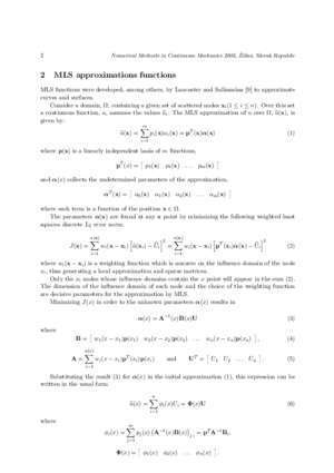 Analysis of free vibration problems with the Element-Free