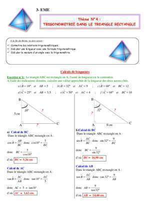 Angle complementaires : 3- EME