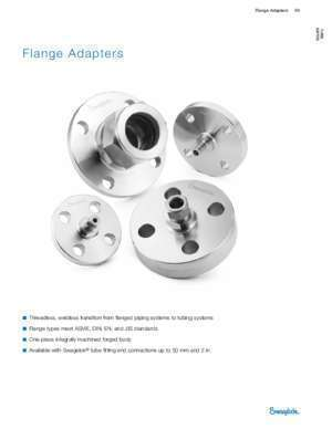 13 200 6 : Flange Adapters (MS-02-200;rev_6;en-US;Catalog) Swagelok