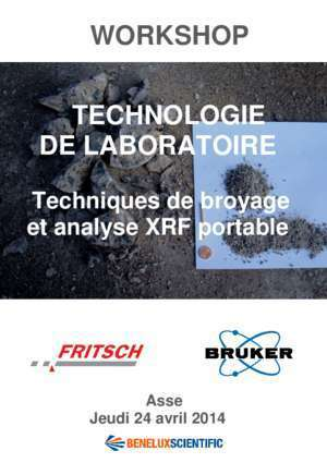 Portable workshop : WORKSHOP TECHNOLOGIE DE LABORATOIRE Benelux Scientific