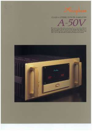 50v : Www accuphase com