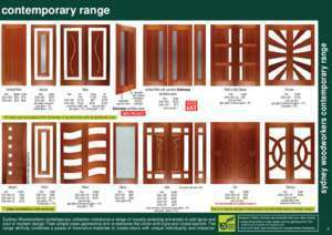 CATALOGUE CONTENTS sydney woodworkers