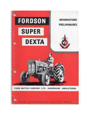 Pompe injection ford 3000 : N