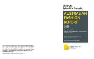 The Australian Fashion Report 2015 - ABC