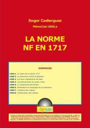 As norme incendie : LA NORME NF EN 1717 media xpair com