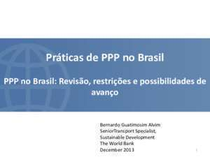 Brazil PPP Market Review Emerging Trends - AFD