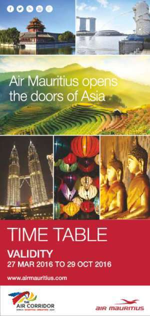 TABLE OF CONTENTS - Air Mauritius