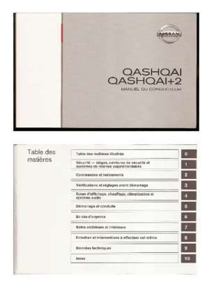 carnet d 39 entretien nissan qashqai 1 6 dci notices et pdf gratuits. Black Bedroom Furniture Sets. Home Design Ideas