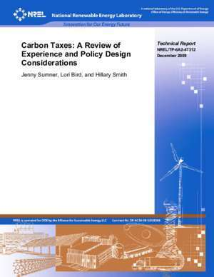 47312 : NREL TP-6A2-47312 Experience and Policy Design December