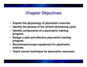 Plyometrics (Ch. 16) - Florida A&M University