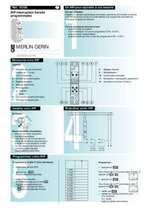 merlin gerin ihp 1c instruction manual