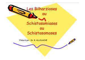 Bilharziose urogenitale - Notices et PDF gratuits