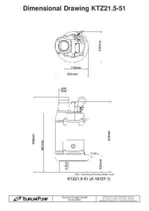 Data Sheet KTZ21.5-51 - Consolidated Pumps Ltd