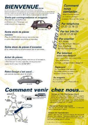 Solex 1700 fiche technique : Télécharger le catalogue 2cv Retro Design Free