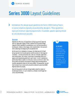 BAC Layout Guidelines - Series 3000