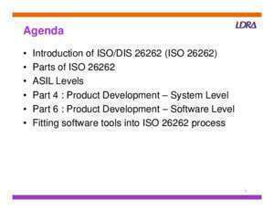 26262 : ISO 26262 the Emerging Automotive Safety Standard