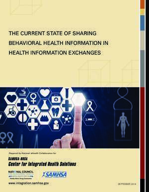 Administration des data cente : THE CURRENT STATE OF SHARING BEHAVIORAL HEALTH