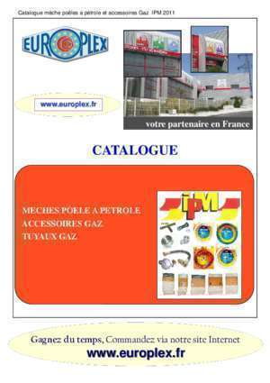 Tosai turbo 2402 : Catalogue prs-pms europlex