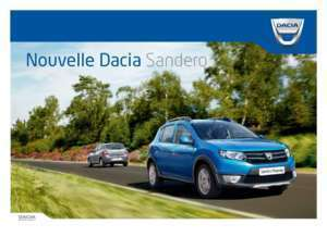 notice dacia sandero stepway notices et pdf gratuits. Black Bedroom Furniture Sets. Home Design Ideas