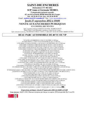 1 4 hdi 70 ch 2008 : Vep parc automobile mdv Interencheres