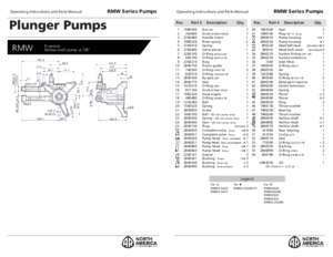 Product Manual for AR North America Pressure Washer Pump