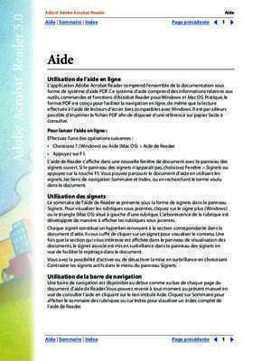 Tlcharger l'application pdf : Aide d Adobe Acrobat Reader reader pdf Adobe ftp
