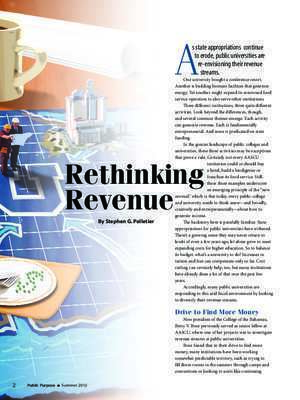 Rethinking Revenue - American Association of State