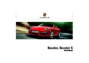 8 page 182 : Owner s Manual Boxster Porsche