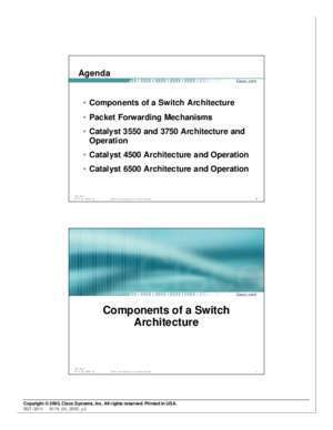 Catalyst Switch Architecture and Operation - Cisco