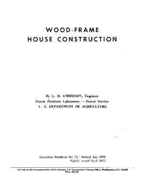 Balloon frame : WOOD-FRAME HOUSE CONSTRUCTION