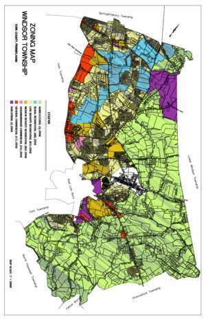 Zoning Map 11x17 (1) - Windsor Township
