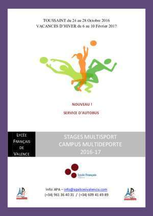 stages multisport campus multideporte 2016-17 - APA Liceo ...