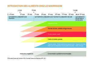 Aliments pour poisson : INTRODUCTION DES ALIMENTS CHEZ LE NOURRISSON
