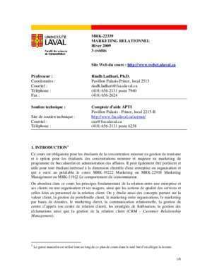 faculté des sciences de l'administration - FSA ULaval