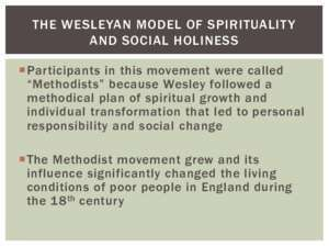 American histoire indian movement : THE WESLEYAN MODEL OF SPIRITUALITY AND SOCIAL HOLINESS