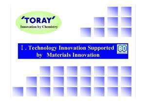 Toray's Advanced Materials