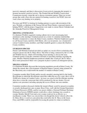 St. Marys River Management Committee MINUTES OF ?