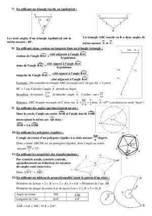 Angle complementaires : COMMENT CALCULER UN ANGLE abaquesne-col spip ac
