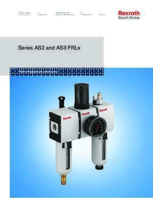 As3 : Series AS2 and AS3 FRLs A&L Hydraulics